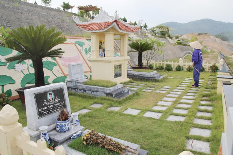 lac hong vien, lạc hồng viên, dịch vụ chăm sóc khuôn viên phần mộ