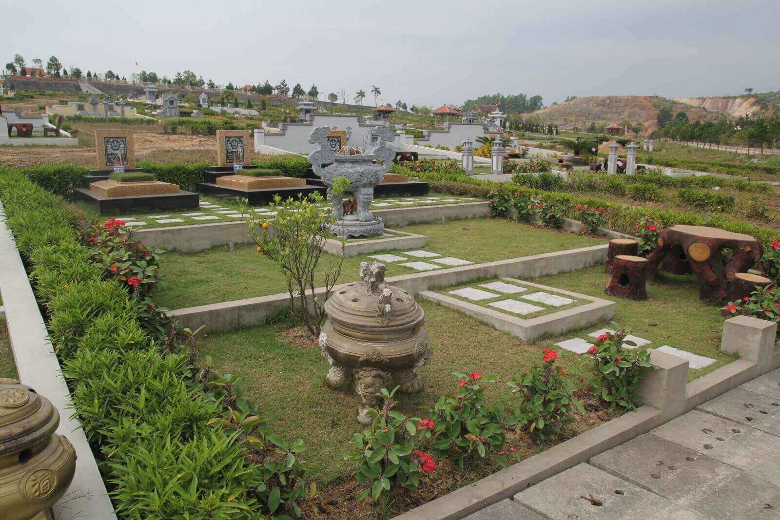 lac hong vien, lạc hồng viên - khuôn viên phần mộ đẹp